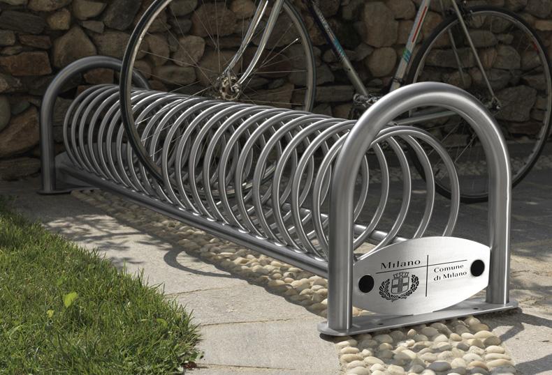 Rastrelliera per bicicletta oc srl for Arredo inox srl