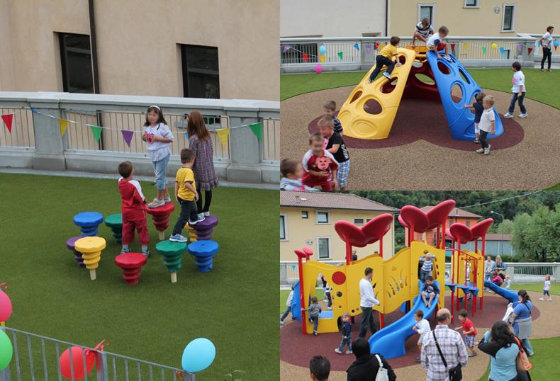 Giochi da esterno per scuole for Arredi archicad
